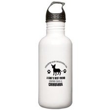 Chihuahua Mommy designs Water Bottle