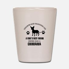 Chihuahua Mommy designs Shot Glass