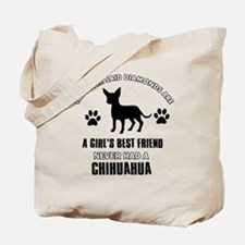 Chihuahua Mommy designs Tote Bag