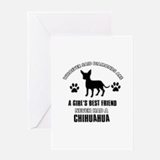 Chihuahua Mommy designs Greeting Card