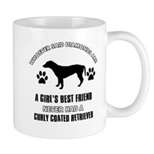 curly Coated Retriever Mommy designs Mug
