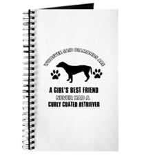curly Coated Retriever Mommy designs Journal