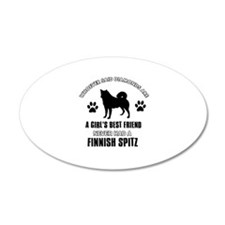Finnish Spitz Mommy designs Wall Decal