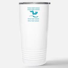 Cool Mint Add Text Workout Yoga Gym Travel Mugs