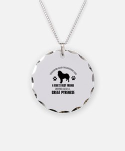 Great Pyrenese Mommy designs Necklace