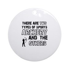 Cool Archery designs Ornament (Round)