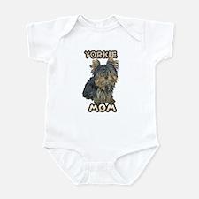 Yorkshire Terrier Mom Infant Bodysuit
