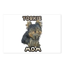 Yorkshire Terrier Mom Postcards (Package of 8)