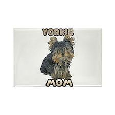 Yorkshire Terrier Mom Rectangle Magnet