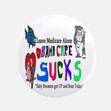 """Obamacare Repeal 3.5"""" Button (100 pack)"""