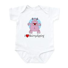 I (Heart) Skinnydipping Infant Bodysuit