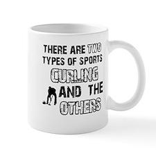 Curling designs Mug