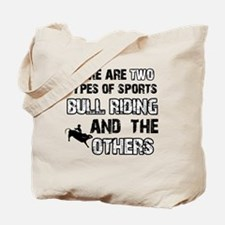 Bull Riding designs Tote Bag