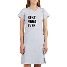 Best Nana Ever Women's Nightshirt