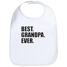 Best Grandpa Ever Bib