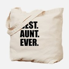Best Aunt Ever Tote Bag