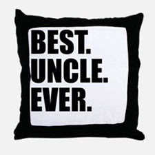 Best Uncle Ever Throw Pillow
