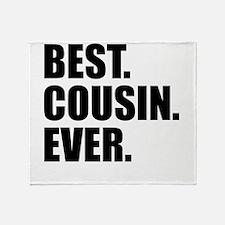 Best Cousin Ever Throw Blanket