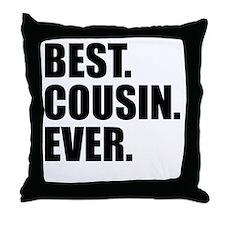 Best Cousin Ever Throw Pillow