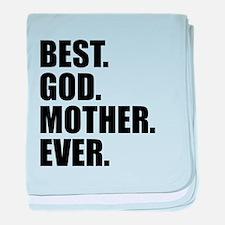 Best Godmother Ever baby blanket