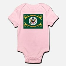 US Army Retired Flag Onesie