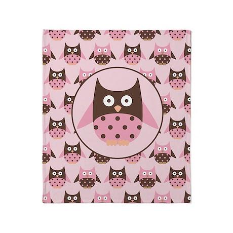 Funny Owl Lover Throw Blanket