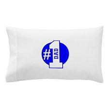 Number 1 Dad (Blue) Pillow Case