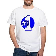 Number 1 Dad (Blue) T-Shirt