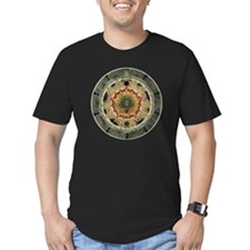 Cosmic Rose Black T-Shirt
