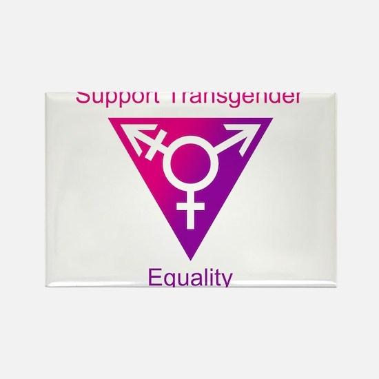 Transgender Equality Rectangle Magnet