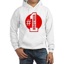 Number 1 Brother (Red) Hoodie