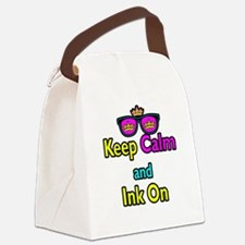 Crown Sunglasses Keep Calm And Ink On Canvas Lunch