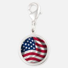 USA Flag Charms