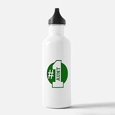 Number 1 Aunt (Green) Water Bottle
