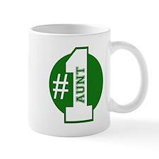Number 1 Aunt (Green) Mug