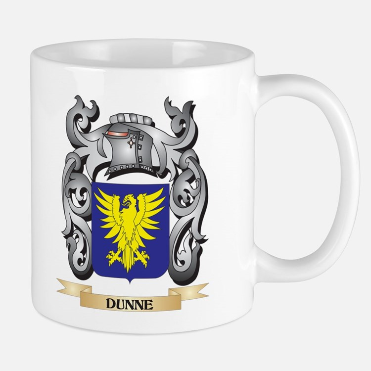 Dunne Coat of Arms - Family Crest Mugs