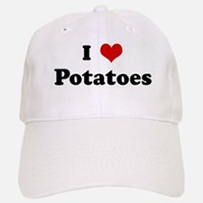 I Love Potatoes Baseball Baseball Cap