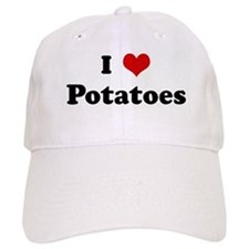 I Love Potatoes Baseball Cap