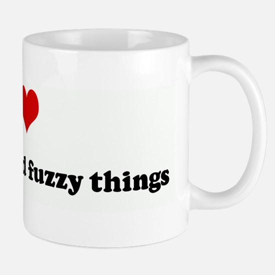 I Love eating cute and fuzzy  Mug