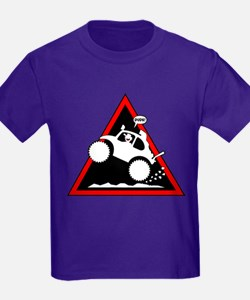 BAJA BUG WHEELIES Danger T-Shirt