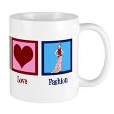 Peace Love Fashion Mug
