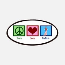 Peace Love Fashion Patches