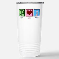 Peace Love Fashion Travel Mug