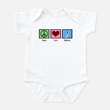 Peace Love Fashion Infant Bodysuit