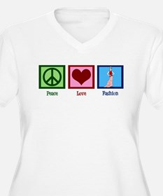 Peace Love Fashion T-Shirt