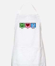Peace Love Fashion Apron