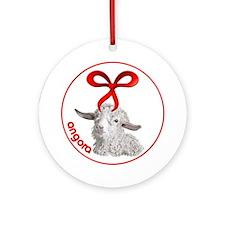 Goat Christmas Angora Sabrina Ornament
