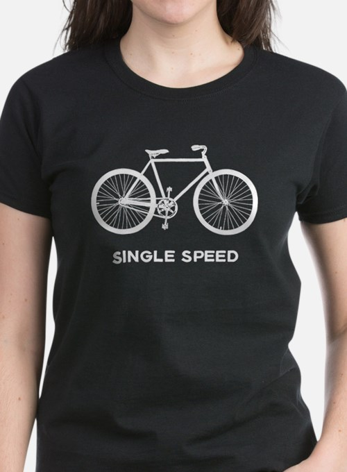 Single Speed Bicycle Tee