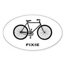 Fixie Decal