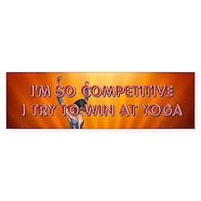 TOP Yogalotus Bumper Sticker